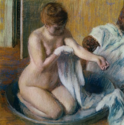 Degas, Woman in a tub, 1883 circa, Tate Gallery, London