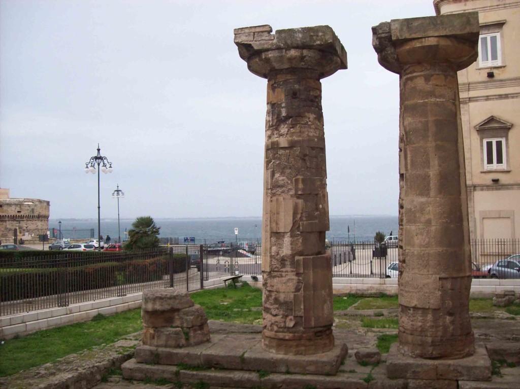 Tempio di Poseidone (V sec. a.c.), città vecchia, Taranto
