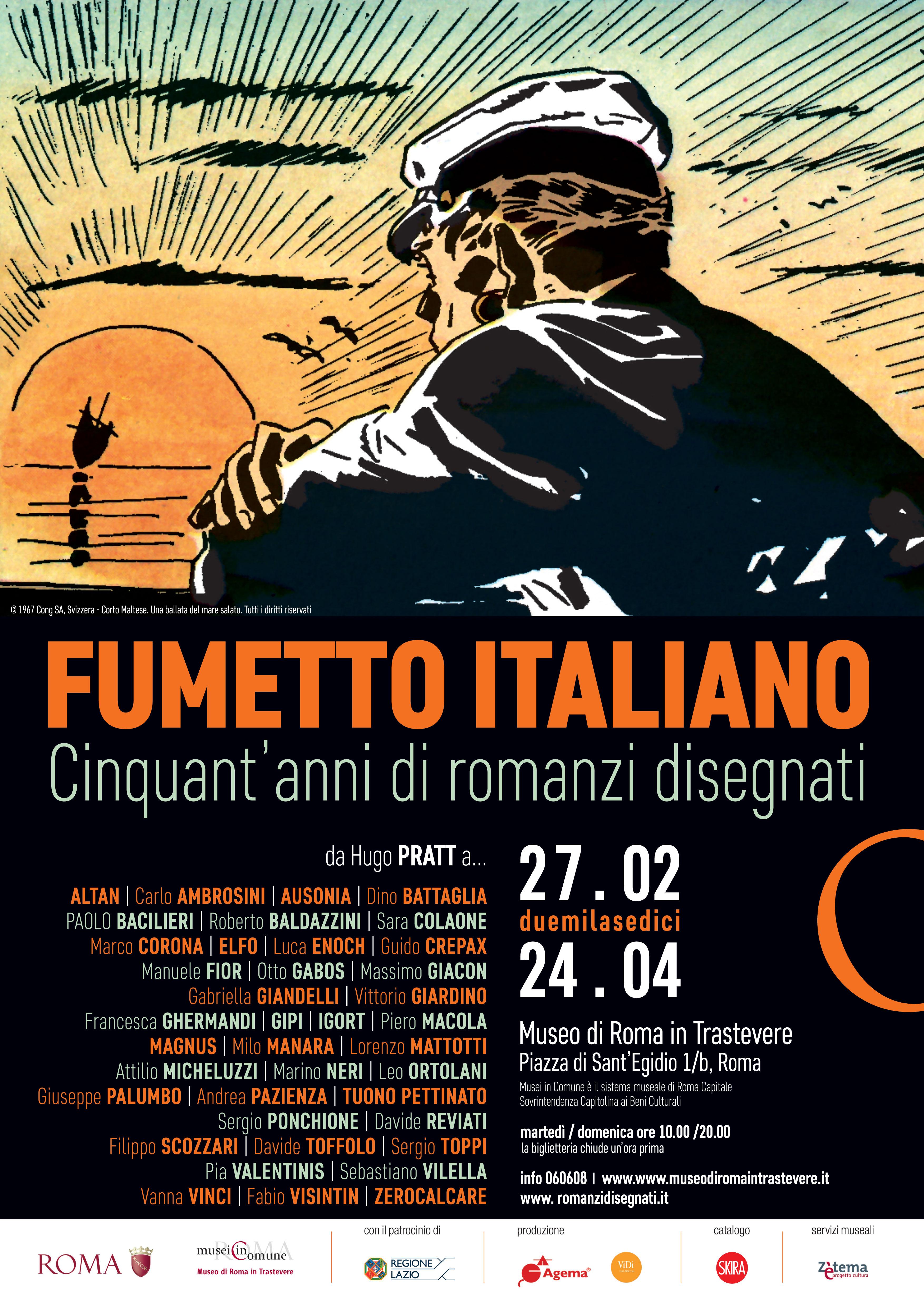 Fumetto italiano Cinquant'anni di romanzi disegnati