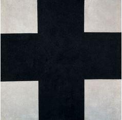 "Kazimir Malevich, ""Croce nera"" (1923), Museo Statale Russo, San Pietroburgo."