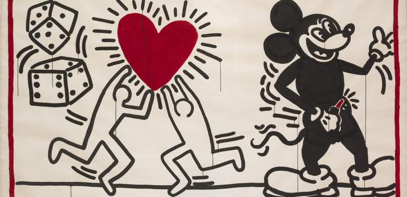 """Keith Haring – alfabeto"", Museo Albertina, Vienna"