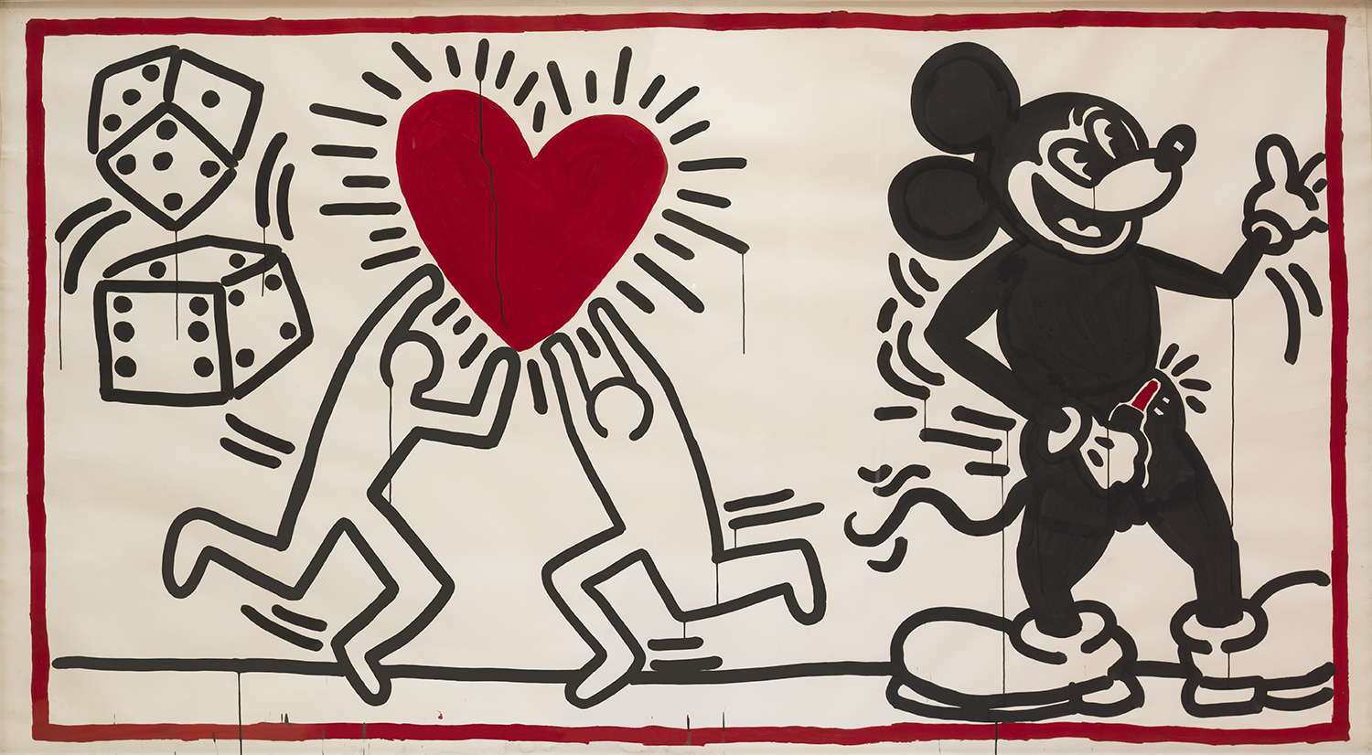 keith haring ohne titel (1982) c keith haring foundation