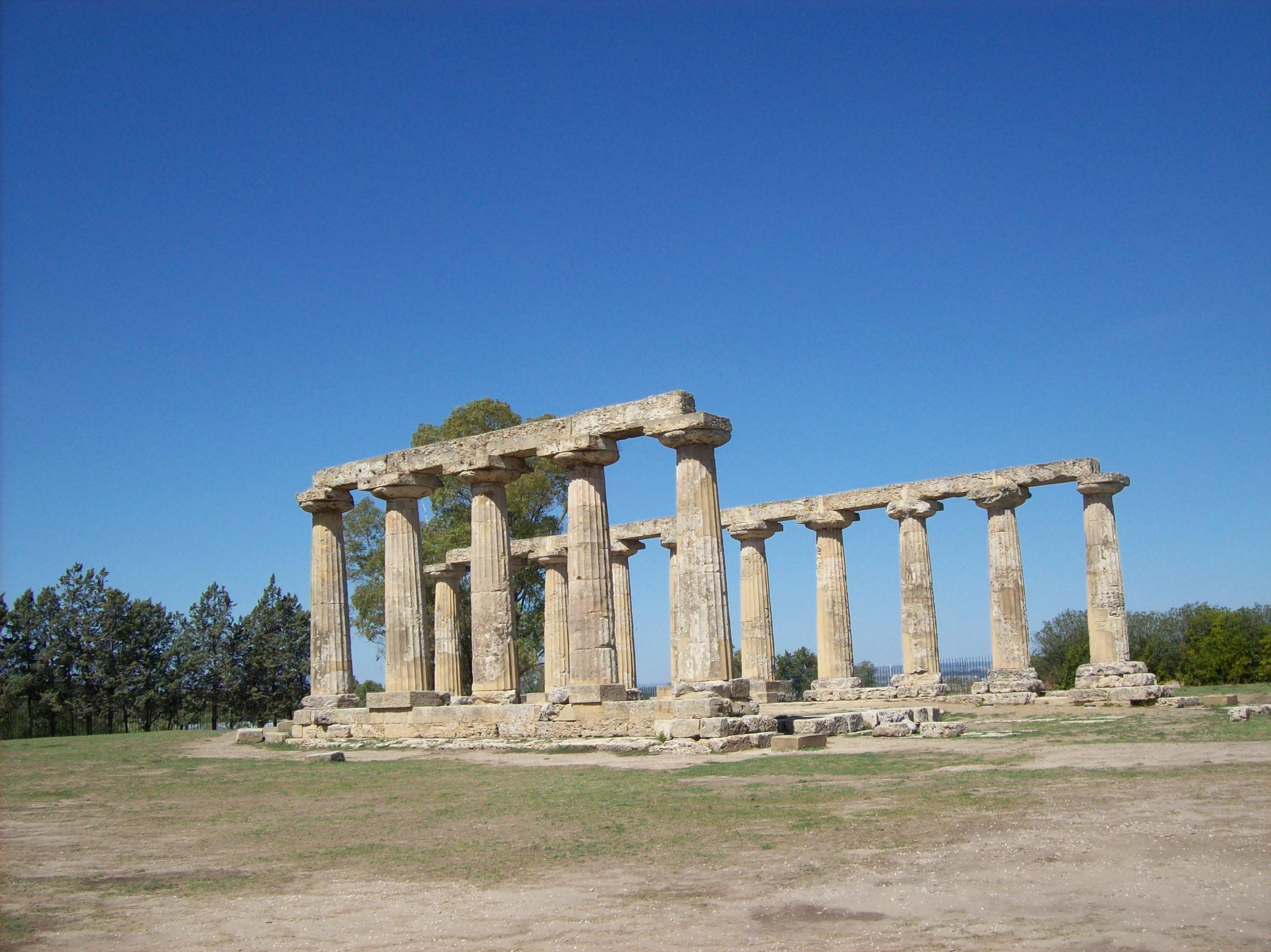 Tempio di Hera (VI sec. a.C.), Metaponto