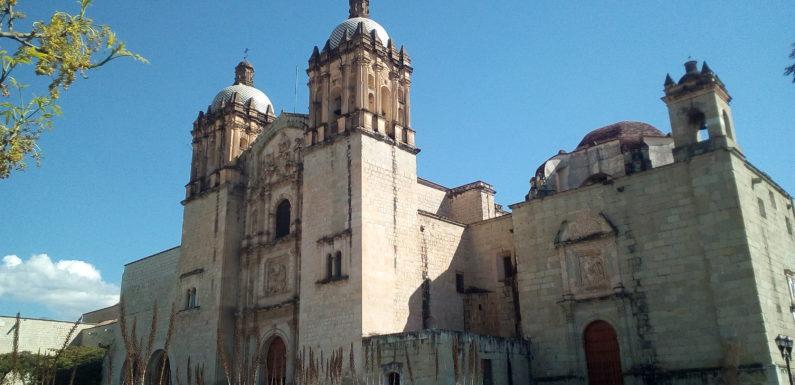 La città di Oaxaca de Juàrez, Messico