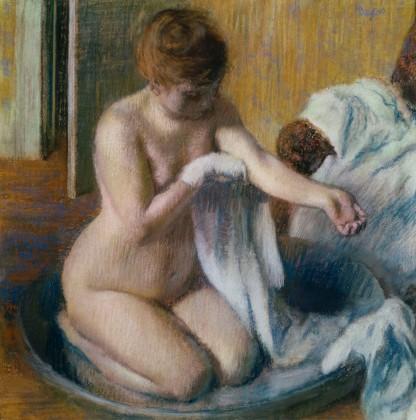 Degas, Woman in a tub, 1883 circa, Tate Gallery, London