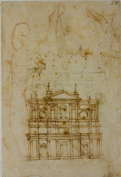 Bas. S. Lorenzo, Michelangelo