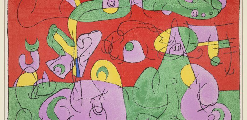 """""""Joan Mirò. Opere Grafiche 1948-1974"""", Castello Carlo V , Monopoli"""