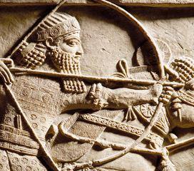 """I am Ashurbanipal king of the world, king of Assyria"", British Museum, Londra"