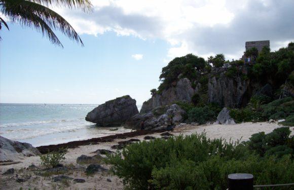 Area archeologica di Tulum (Quintana Roo, Messico)
